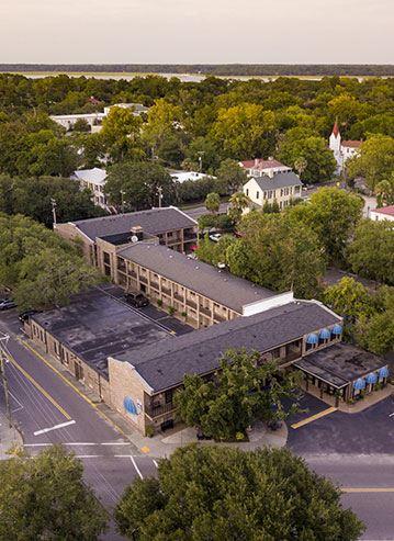 Location Best Western Sea Island Inn Beaufort South Carolina