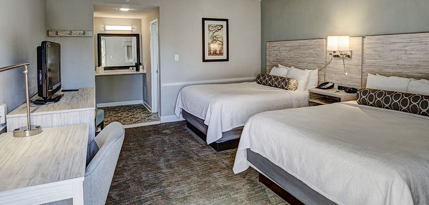 Queen Beds Rooms In Best Western Sea Island Inn Beaufort South Carolina