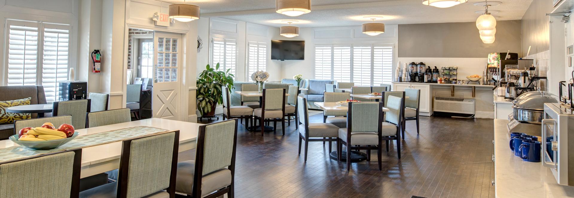 Dining At Western Sea Island Inn, Beaufort South Carolina