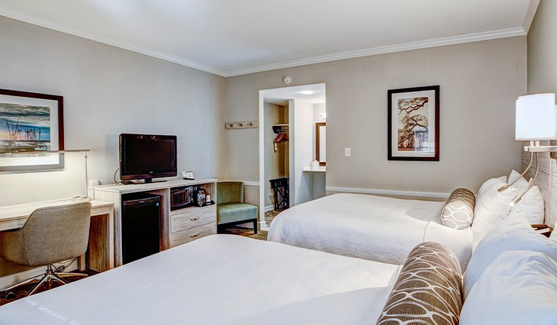 Mobility Accessible 2 Queen Beds Rooms at Best Western Sea Island Inn Beaufort South Carolina