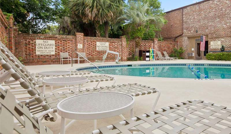 Outdoor Pool Beaufort Tours South Carolina